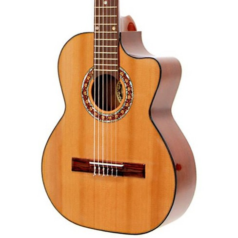 Paracho Elite Guitars Gonzales 6 String Requinto Natural - image 1 of 2