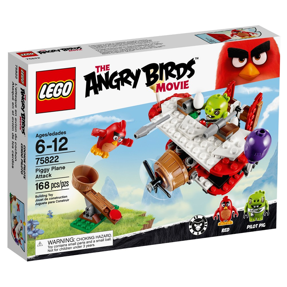 Lego Angry Birds Piggy Plane Attack 75822