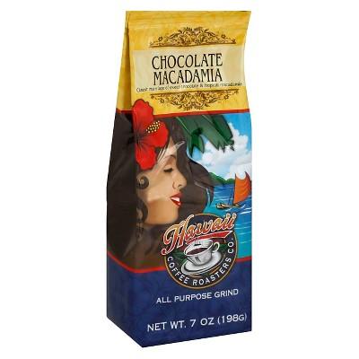Hawaiian Isles Chocolate Macadamia Medium Roast Ground Coffee - 7oz