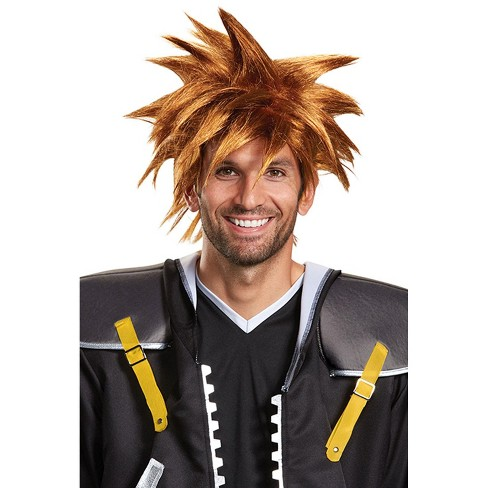 Kingdom Hearts Sora Adult Wig - image 1 of 1