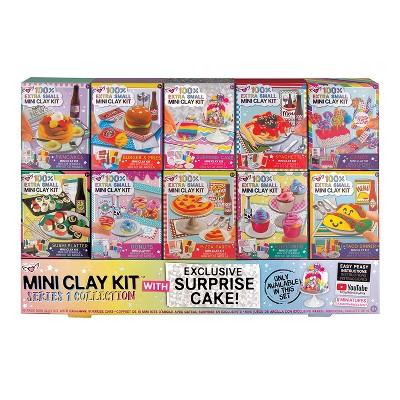 Fashion Angels Fashion Angels 100% Extra Small Mini Clay Kit | 10 Tiny Food Clay Kits