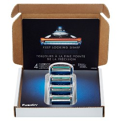 Gillette Fusion Manual Razor Blade Refill Pack Subscription Pack - 4ct