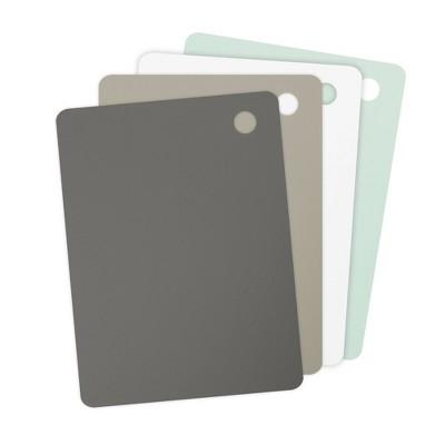 Tovolo Elements Large Flexible Cutting Mats Set of 4 61-33580 - Grays