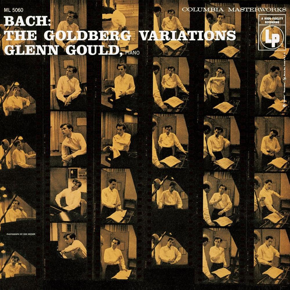 Glenn gould - Goldberg variations (1955) (Vinyl)