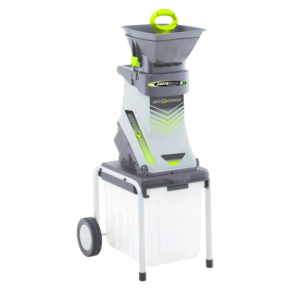 Image of 120 Volts, 60Hz, 15 Amp, 1800 Watts Corded Chipper Shredder - Gray - Earthwise