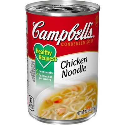Campbell's Condensed Healthy Request Chicken Noodle Soup - 10.75oz