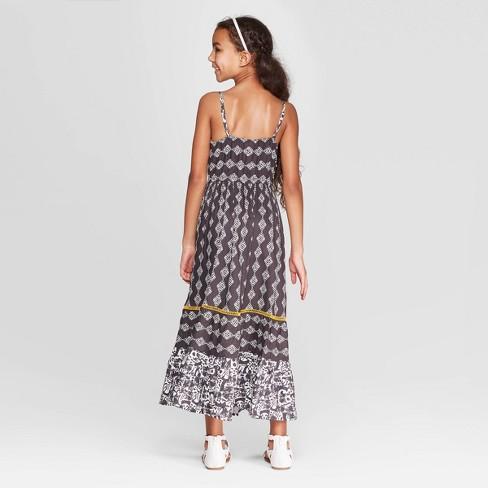 1e11876bfed Girls  Maxi Dress - Cat   Jack™ Gray   Target