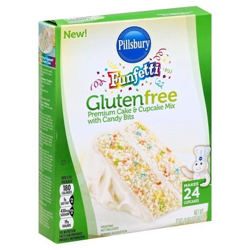 Pillsbury Gluten Free Funfetti Cake - 17oz - image 1 of 4