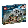 LEGO Harry Potter The Rise of Voldemort 75965 Wizard Minifigure Battle Action Building Set  184pc - image 4 of 4