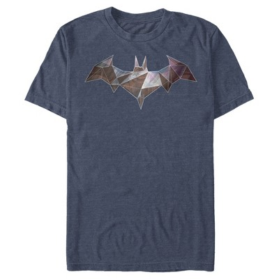 Men's Batman Logo Geometric Wing T-Shirt