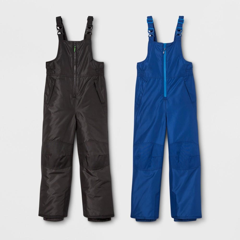 Boys' 2pk Snow Bib - C9 Champion Navy/Black XL, Blue
