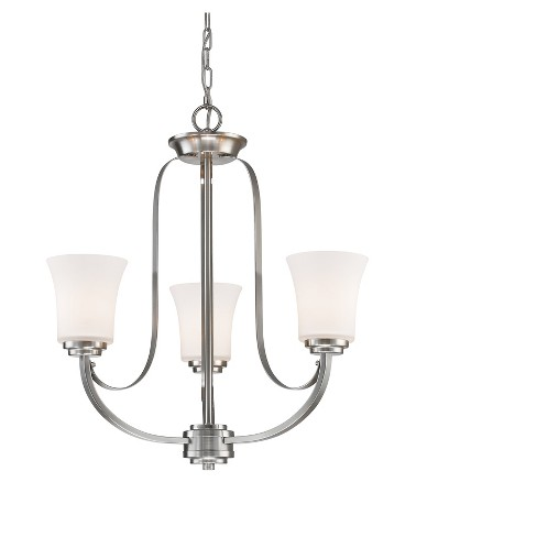 Chandelier with Matte Opal Glass (Set of 3) - Z-Lite - image 1 of 1