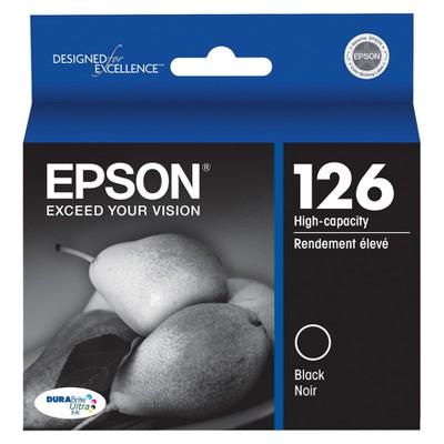 Epson 126 Single & 3pk Ink Cartridges - Black, Multicolor