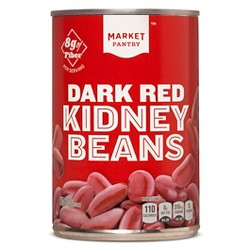 Dark Red Kidney Beans - 15.5oz - Market Pantry™