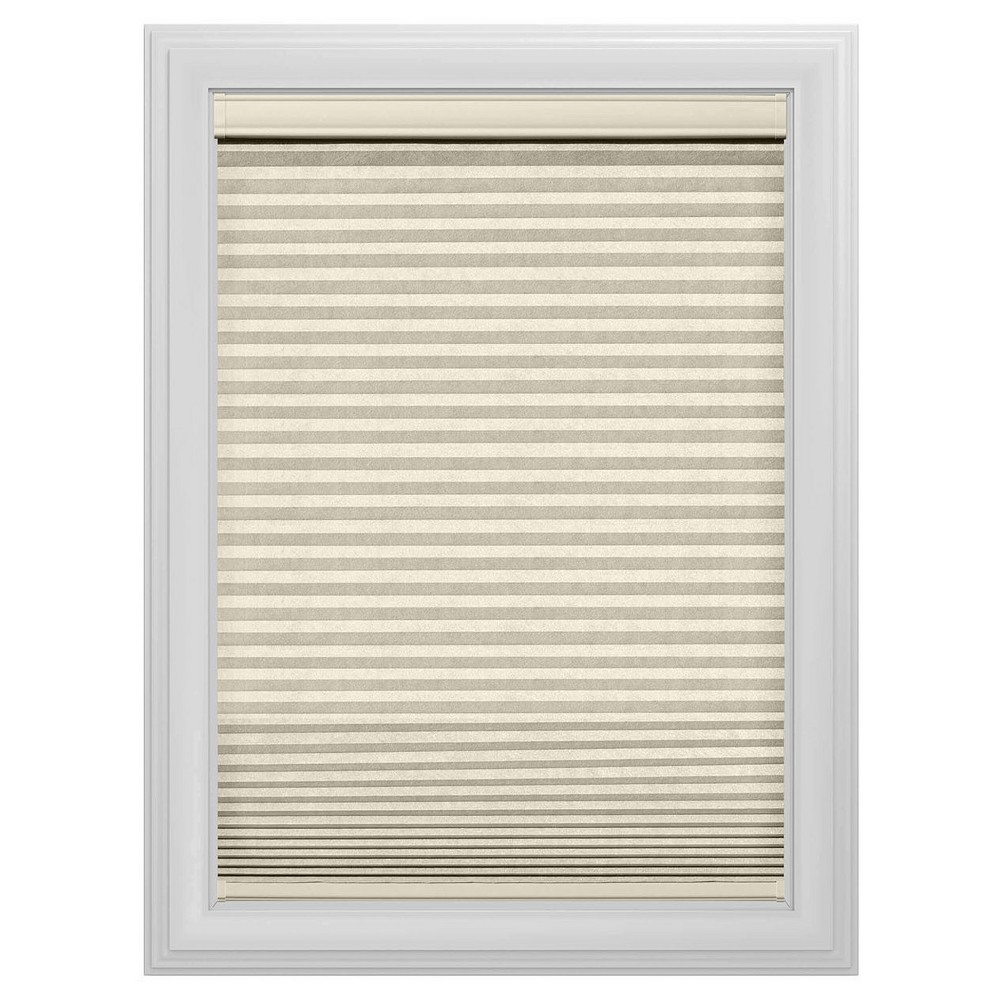 Cordless Light Filtering Cellular Shade Slotted Window Blind Alabaster 43