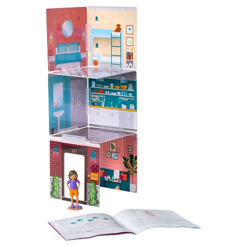 Wonderhood Town House Building Set - image 1 of 3