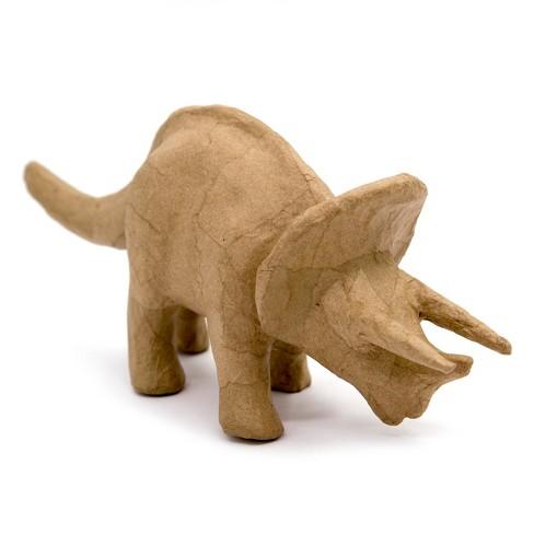 kid made modern dinosaur triceratops figurine kraft target