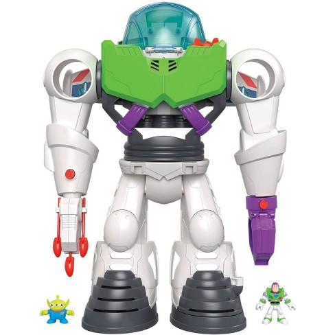 Fisher-Price Imaginext Disney Pixar Toy Story 4 Buzz Lightyear Robot - image 1 of 10