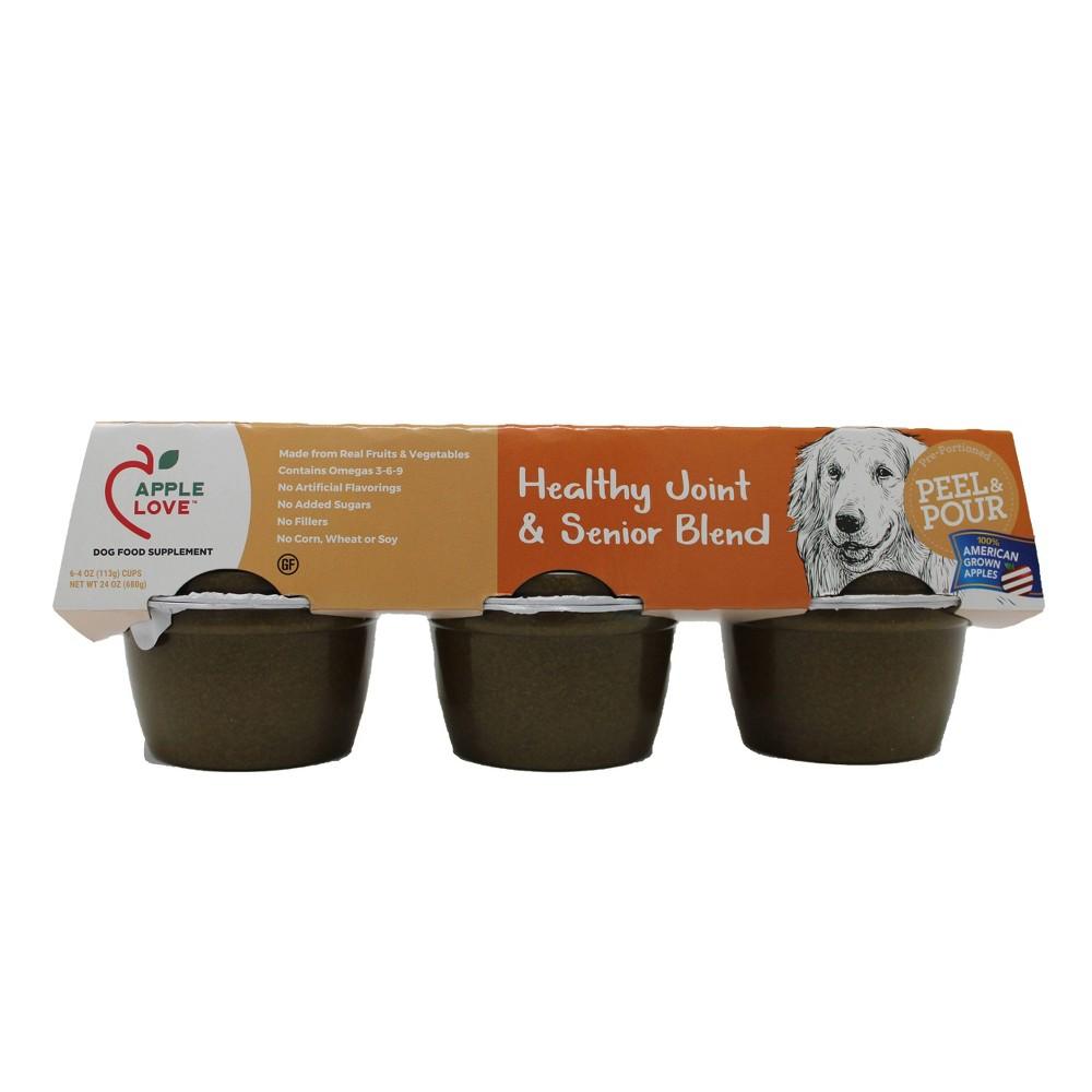 AppleLove Wet Dog Food Supplement Healthy Joint & Senior Blend - 4oz/6ct Pack Coupons