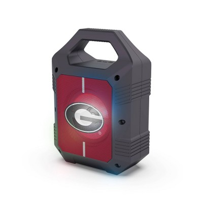 NCAA Georgia Bulldogs Bluetooth Speaker with LED Lights