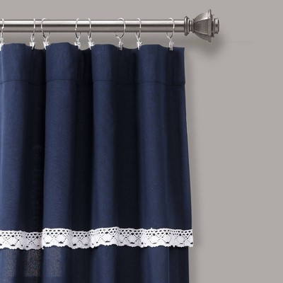 Navy Lace Curtains Target