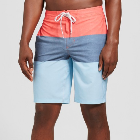 """Men's 10"""" Trooper Board Shorts - Goodfellow & Co™ Red - image 1 of 3"""