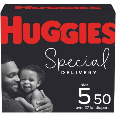 Huggies Special Delivery Hypoallergenic Diapers Super Pack - Size 5 (42ct)