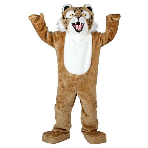Bobcat Economy Mascot Adult Costume - One Size Fits Most - image 1 of 1