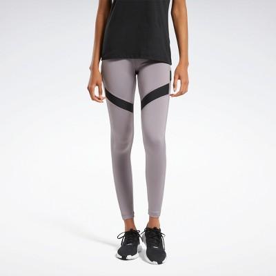 Reebok Workout Ready Mesh Leggings Womens Athletic Leggings