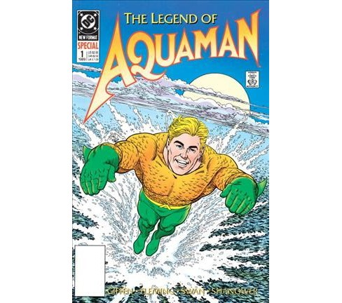 Aquaman : The Legend of Aquaman -  (Aquaman) by Keith Giffen (Paperback) - image 1 of 1