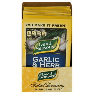 Good Seasons Garlic & Herb Salad Dressing & Recipe Mix 0.75oz