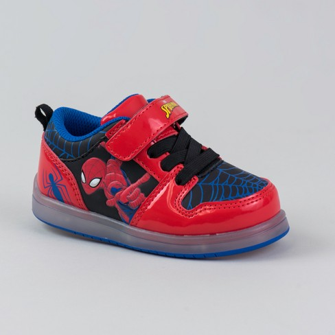 Toddler Boys' Spiderman Sneakers - Black - image 1 of 3