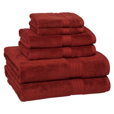 6pc Signature Solid Bath Towel Set - Cassadecor