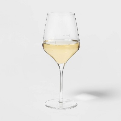 16oz 4pk Glass Traditional White Wine Glasses - Threshold™