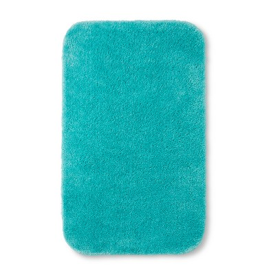 32 x20  Solid Bath Rug Turquoise - Room Essentials™