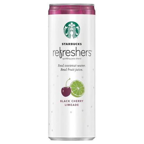 Starbucks Refreshers Black Cherry Limeade - 12 fl oz Can - image 1 of 3