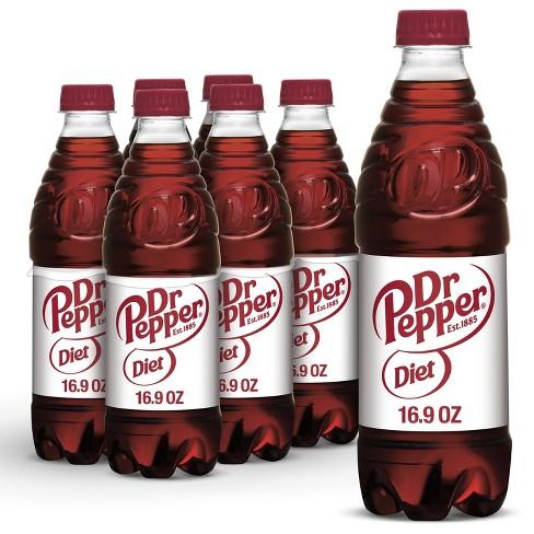 Diet Dr Pepper Soda - 6pk/0.5 L Bottles - image 1 of 4