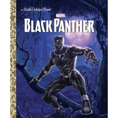 Black Panther Little Golden Book (Marvel: Black Panther) - by  Frank Berrios (Hardcover)