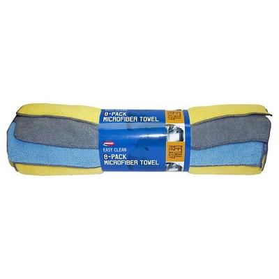 Carrand 8pcs Multipack Microfiber Automotive Towels