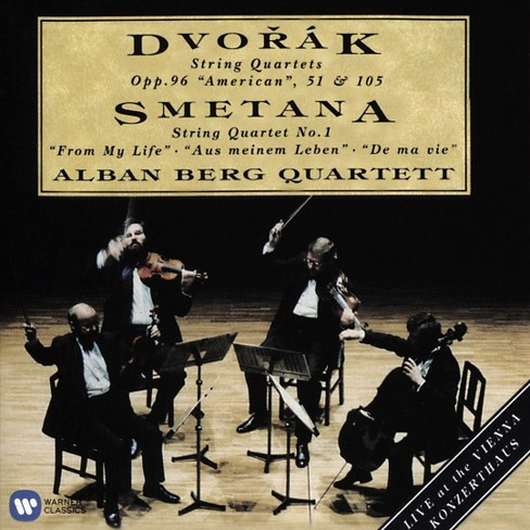 Alban quartet berg - Dvorak/Smetana:String quartets (CD) - image 1 of 1
