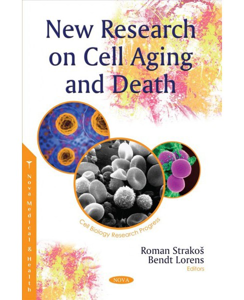New Research on Cell Aging and Death -  (Cell Biology Research Progress) (Paperback) - image 1 of 1