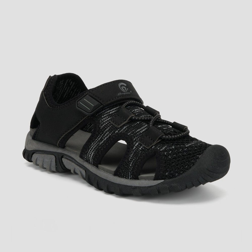 Boys' Hyde Hiking Sandals - C9 Champion Black 13