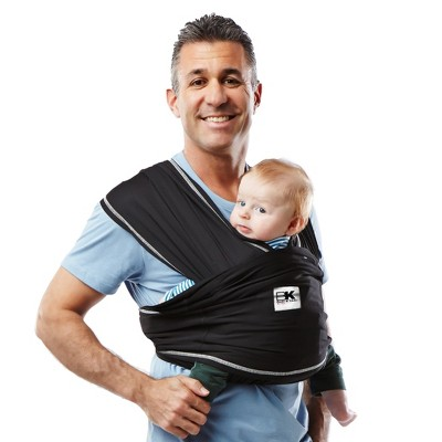 Baby K'tan Active Baby Carrier - Black - Small
