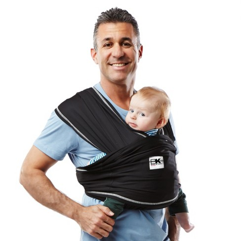 Baby K'tan Active Baby Wrap Carrier - Black - image 1 of 4