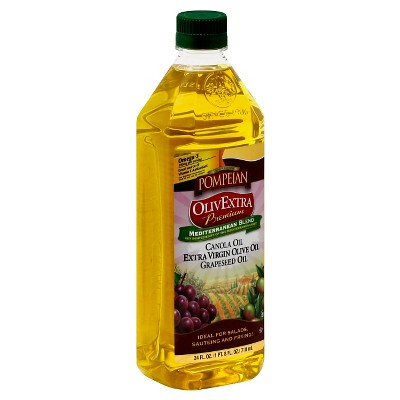 Olive Oil: Pompeian OlivExtra Mediterranean Blend