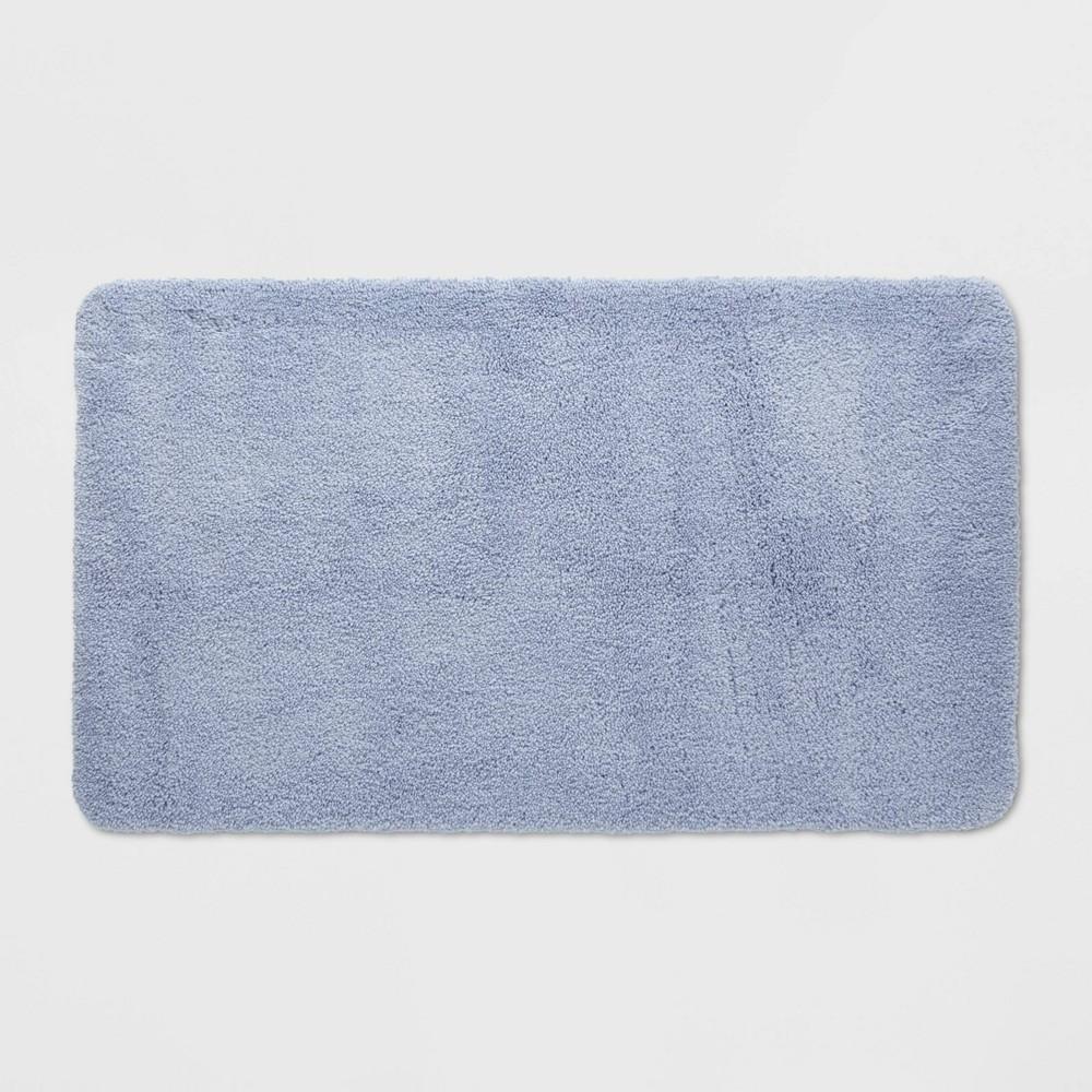 Performance Nylon Bath Rug Water Blue