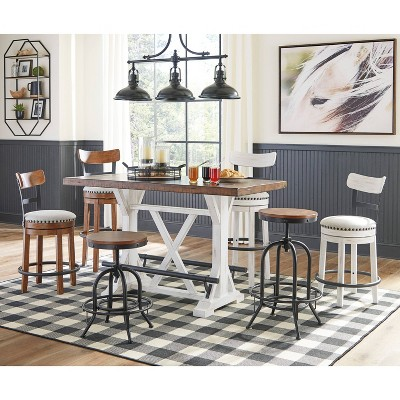 Valebeck Counter Height Dining Room Table Brown Signature Design By Ashley Target