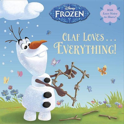 Olaf Loves . . . Everything! (Disney Frozen) - (Pictureback(r)) by  Andrea Posner-Sanchez (Paperback)