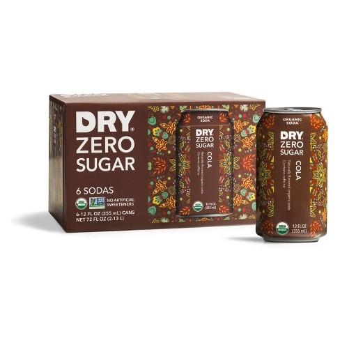 DRY Zero Sugar Organic Soda Spice Cola - 6pk/12 fl oz Cans - image 1 of 1
