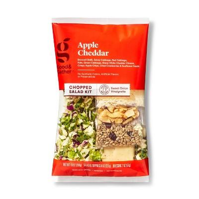 Apple Cheddar Chopped Salad Kit - 10oz - Good & Gather™